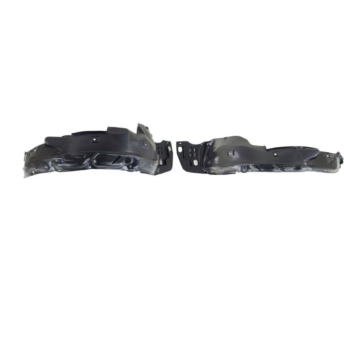 New Set Of 2 LH /& RH Side Front Inner Fender Splash Shield Fits Honda Civic