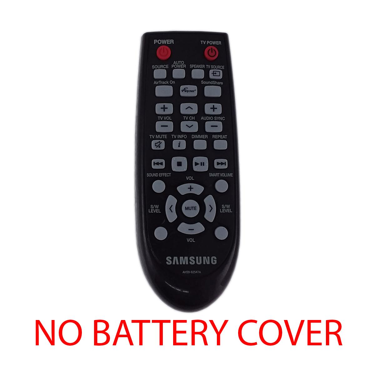 NEW OEM SAMSUNG AH59-02631A Sound Bar System Remote ControlNo back cover
