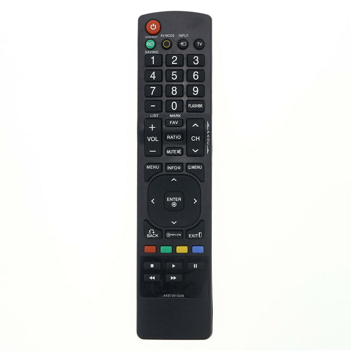 Details about New Replacement LG 42LT560E 42LT670H 42LT670HUA 42LT770H TV  Remote Control
