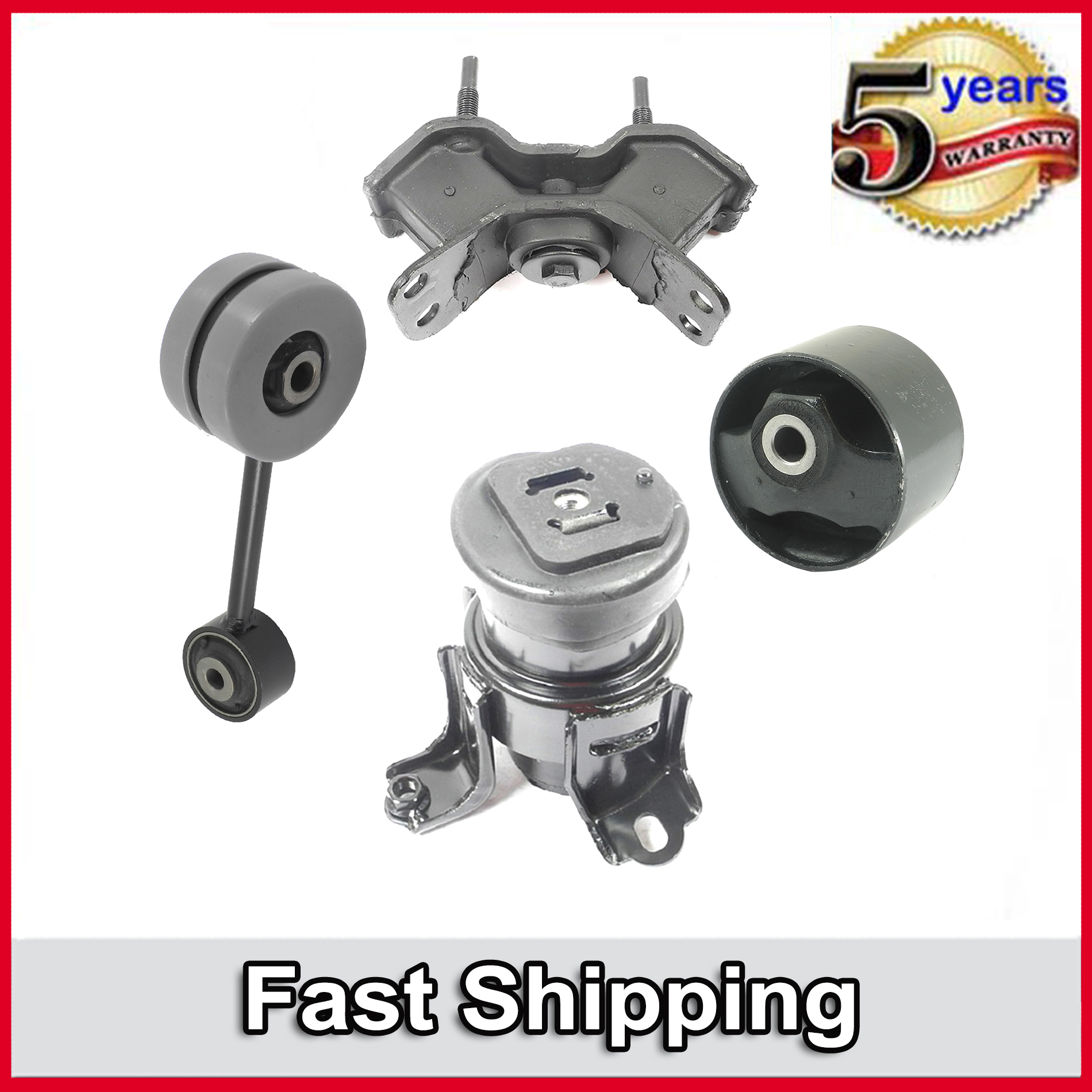 Camry ES300 for Auto Engine Motor /& Trans Mount 4PCS 1997-2001 for Toyota Lexus