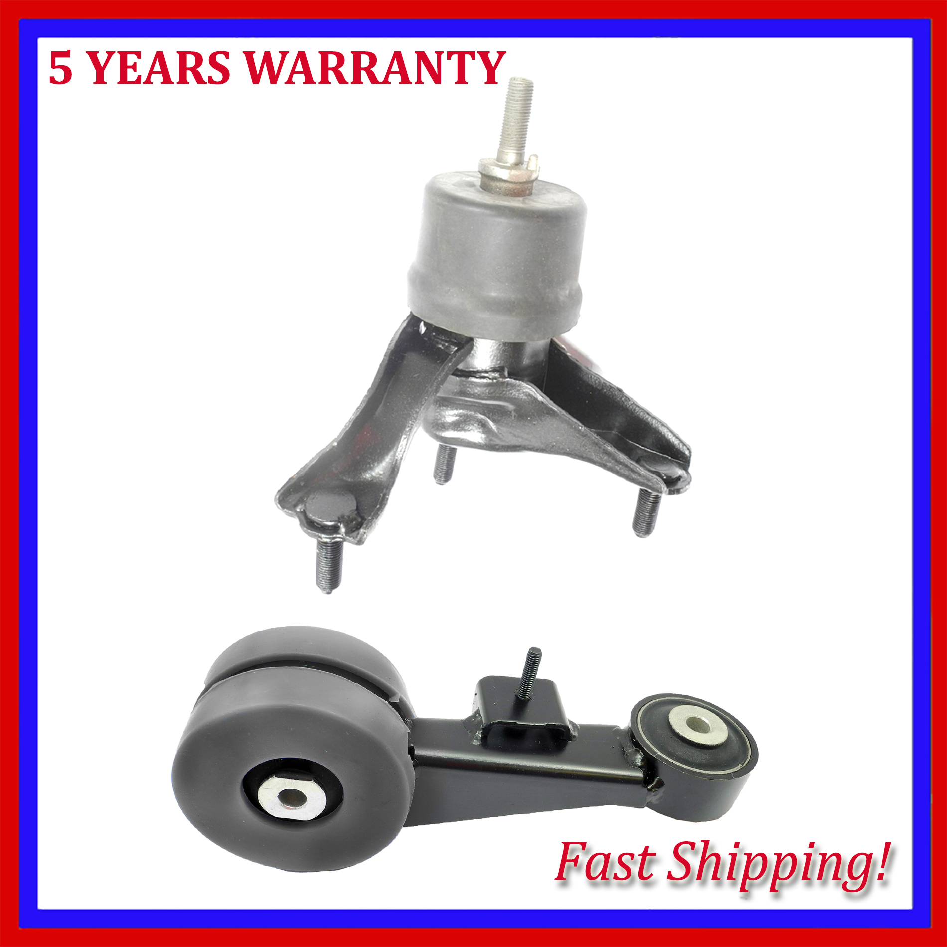 2007-2012 for Toyota Camry Avalon for Auto Engine Motor /& Trans Mount Set 3PCS