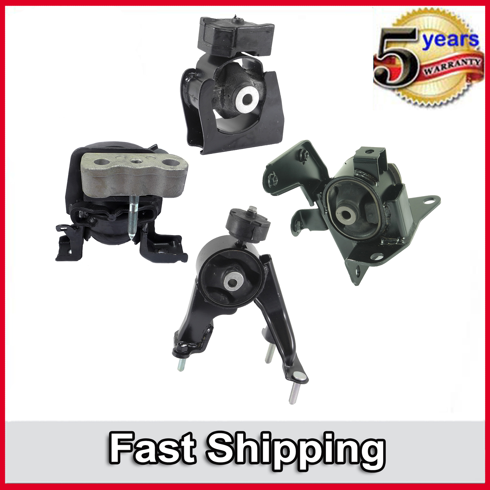 Brand New Transmission /& Motor Mount Set for 03-08 Toyota Corolla 1.8l Automatic