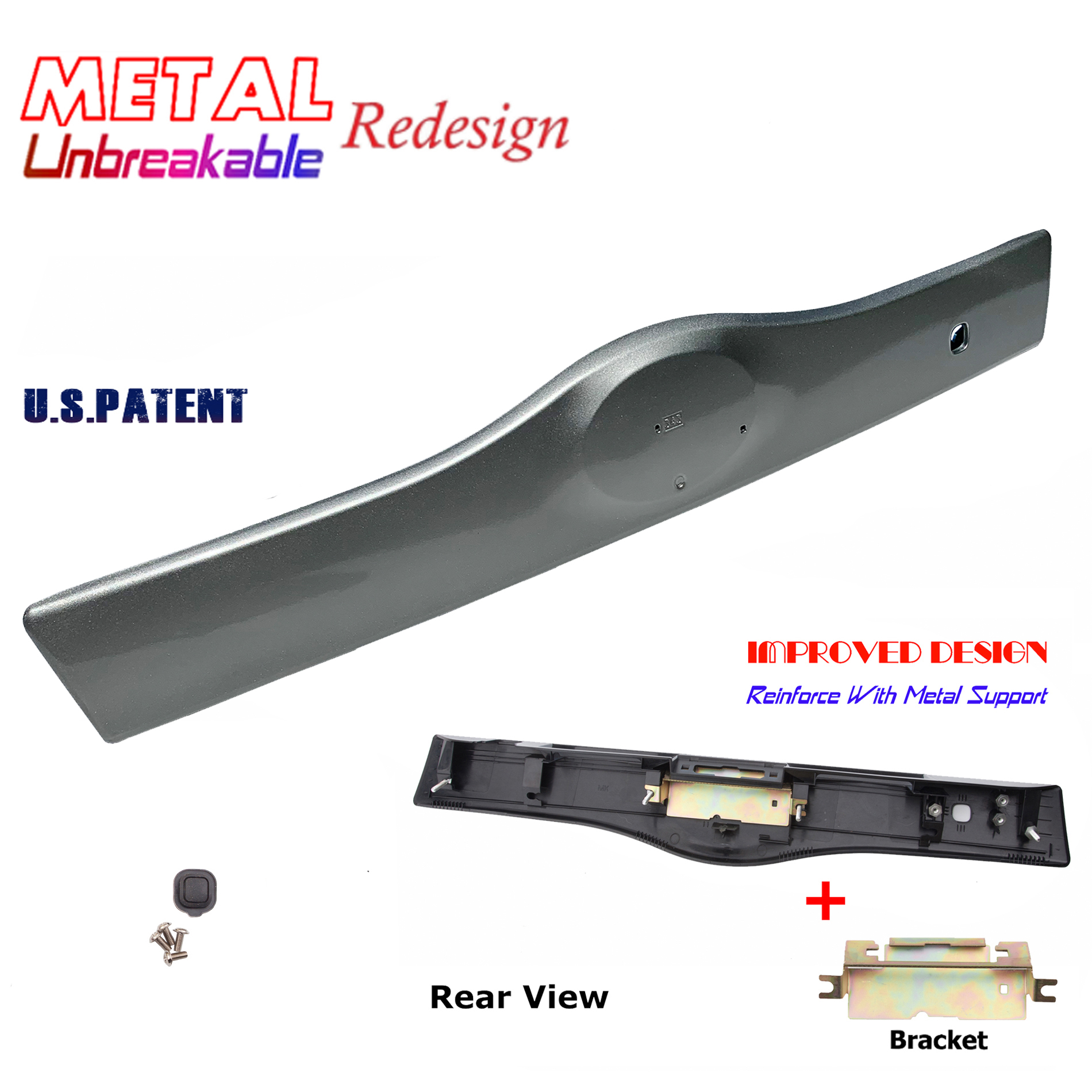 Rear Tailgate Liftgate Handle Garnish For 04-09 Toyota Prius 4S2 Driftwood Pearl