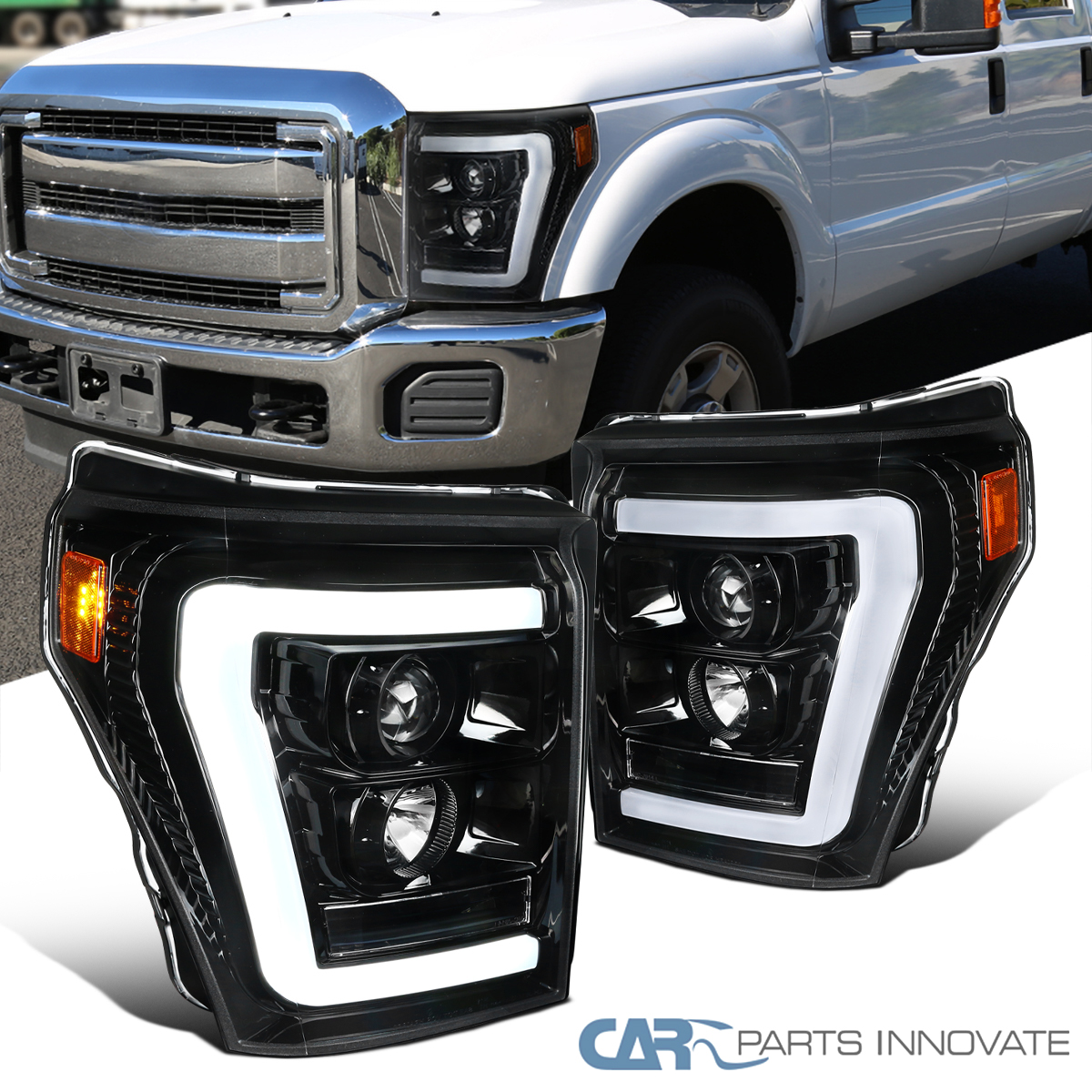 CAPA Fender Compatible with FORD F-250//F-350 SUPER DUTY 2011-2016 RH