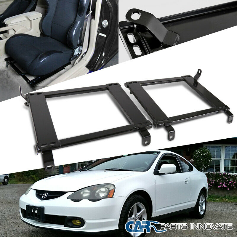 3e85223bb6c1e Details about 02-06 Fit Acura RSX Tensile Steel Racing Seat Base Bucket  Mounting Brackets Rail