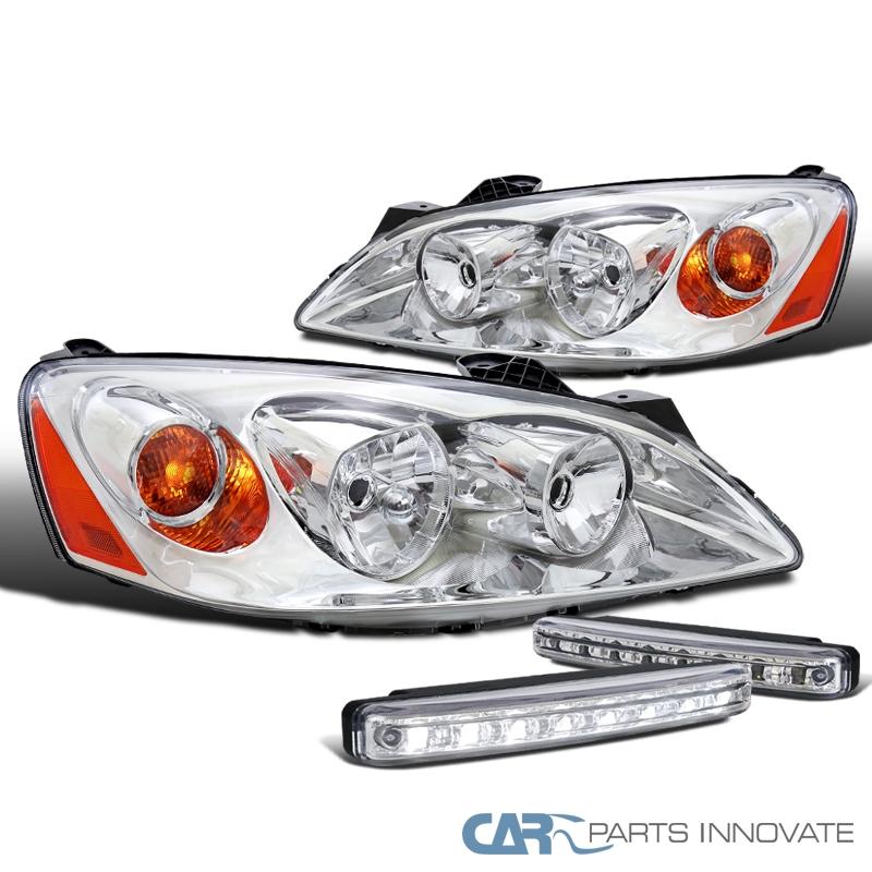 2005-2010 Pontiac G6 LED Projector Headlights+8-LED Fog Driving Bumper Lamps