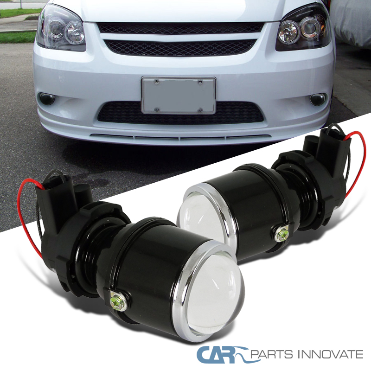 "4/"" CAR JDM UNIVERSAL 12V H3 55W REPLACMENTS FOG LIGHTS DRIVING LAMPS CAR TRUCK"