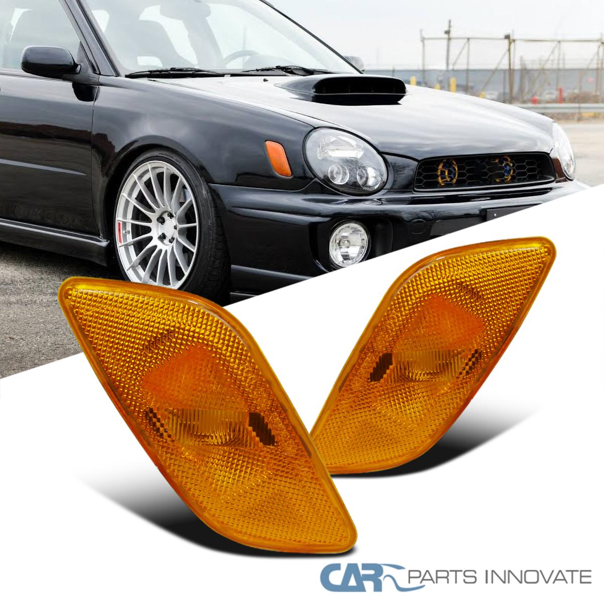 fits 93-01 Subaru Impreza Side Marker Lights Side Lamp 97 98 PAIR NIB