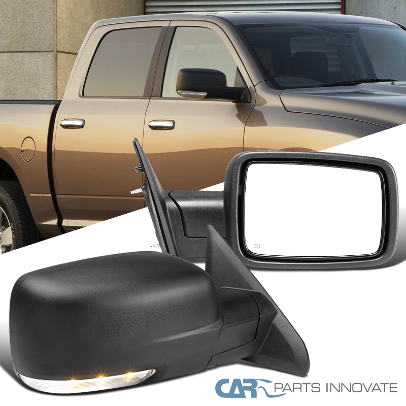 NEW Mirror 09-12 DODGE RAM PICKUP Driver Left Side POWER HEATED Assembly