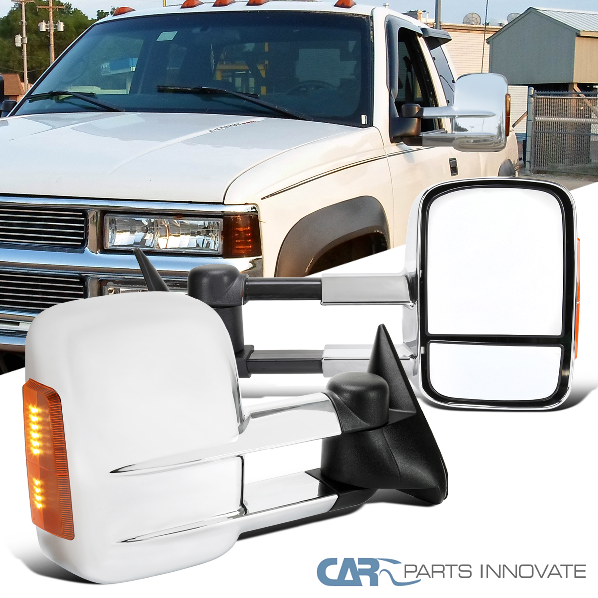 Power Tahoe Passenger Side Mirror Heated 1988-2002 For Chevy Pickup