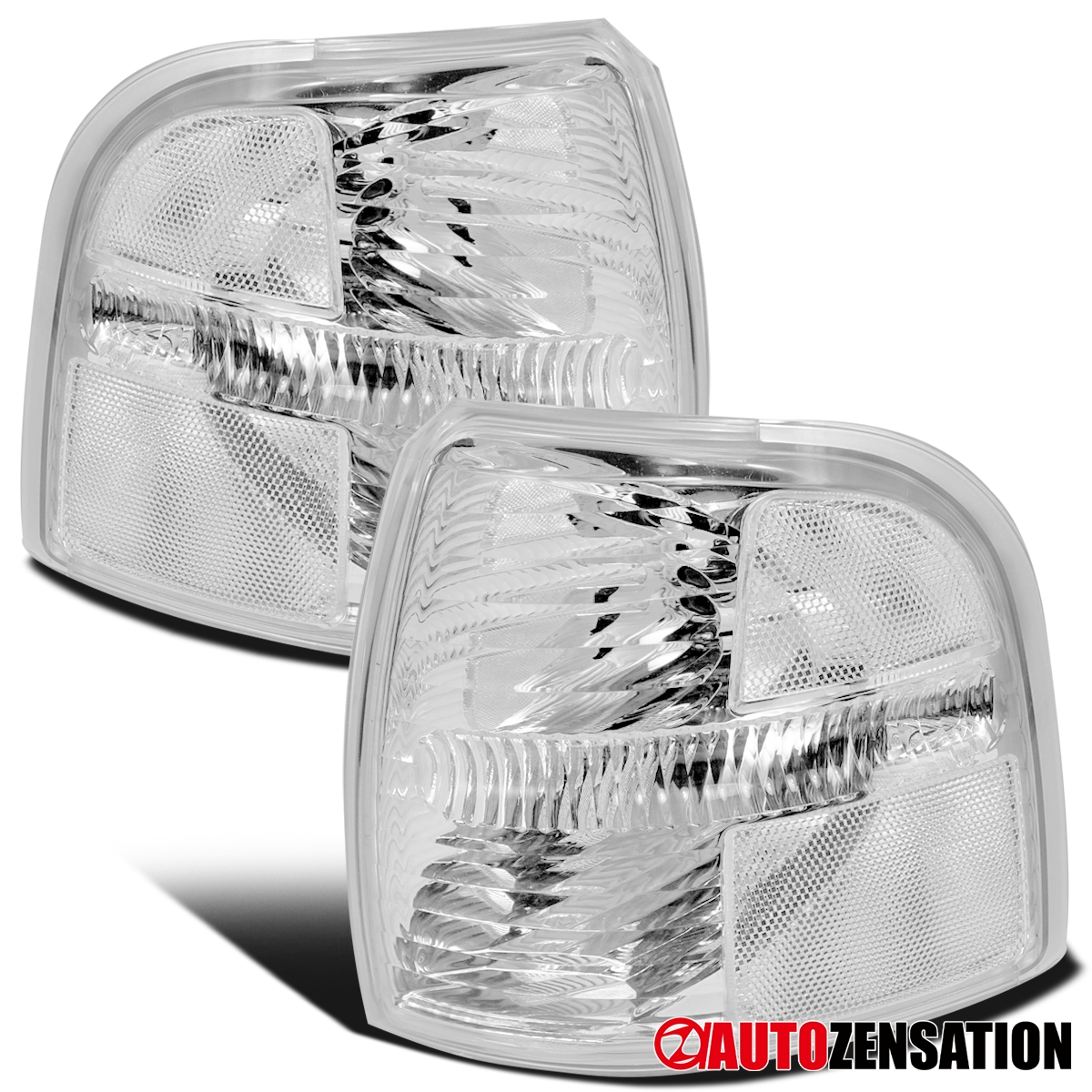 2002-2005 Ford Explorer Replacement Fog Light Lamp Set Left /& Right Clear