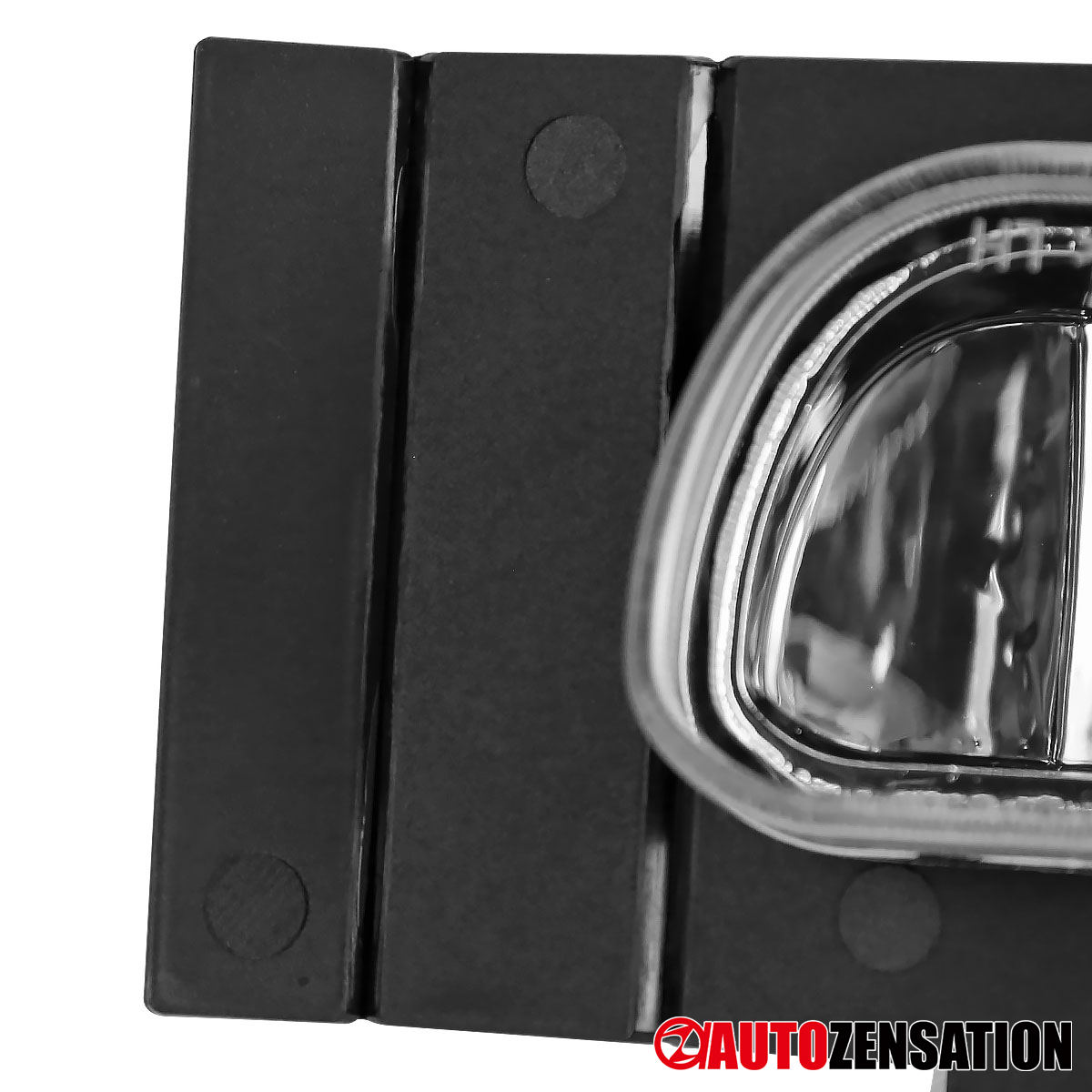 For 1994-1998 Ford Mustang V6 Clear Bumper Fog Lights w ...