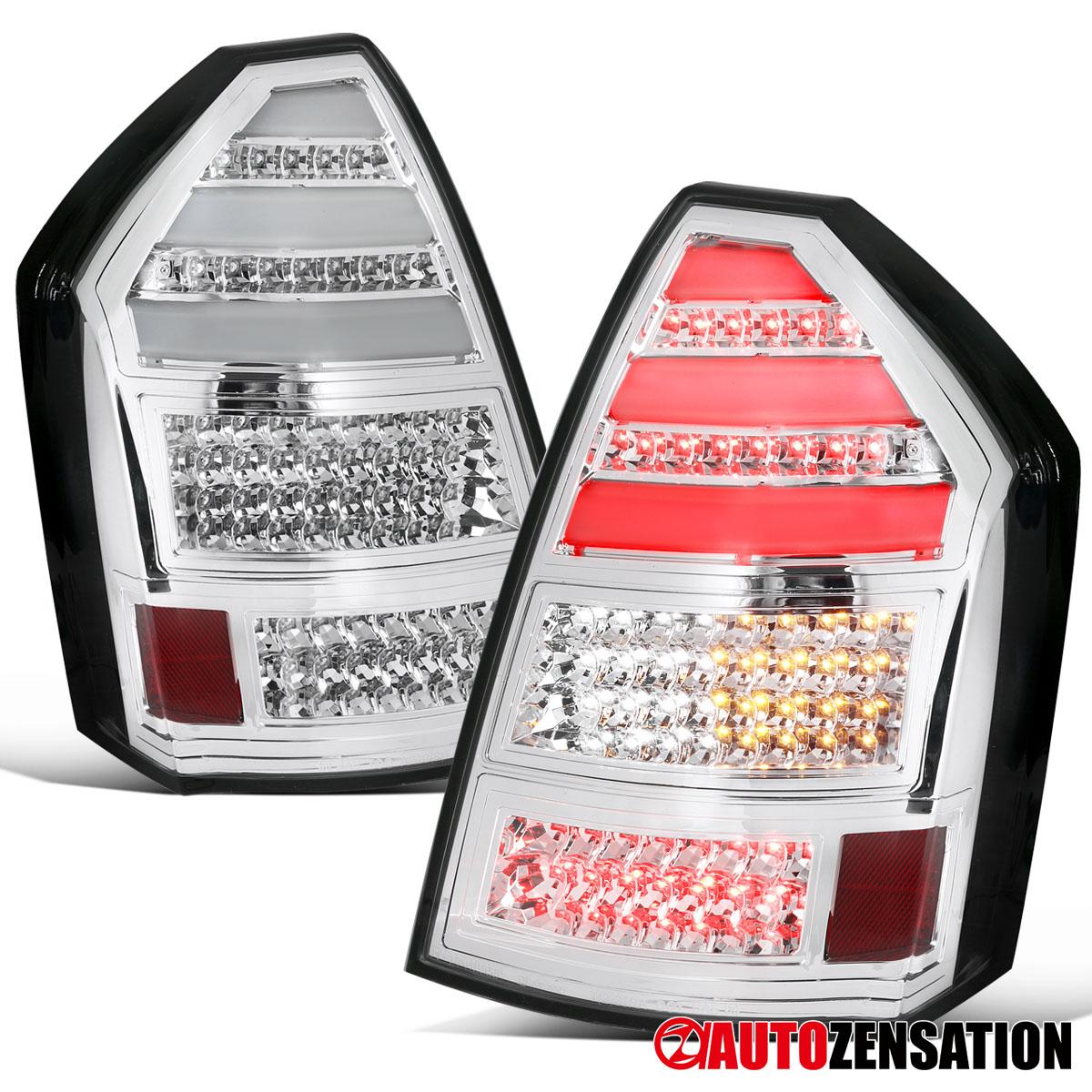 For 05-07 300C Smoked LED Tail Lights w// Fiber Optic LED Neon Light Tube