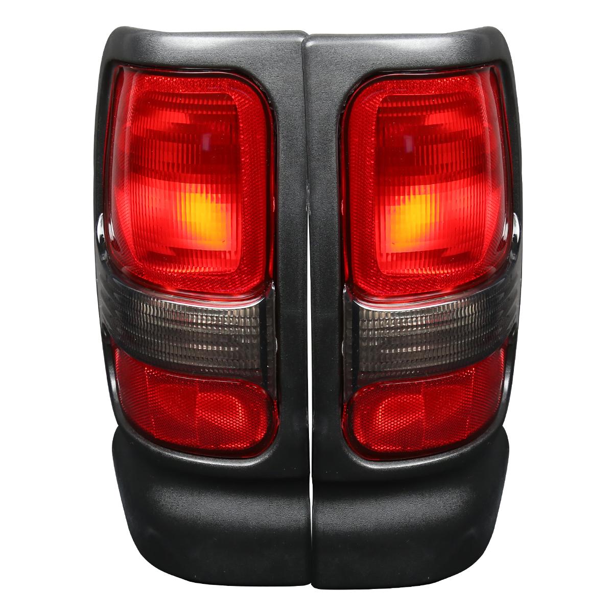 For 1994 2001 Dodge Ram 1500 2500 3500 Truck Black Red