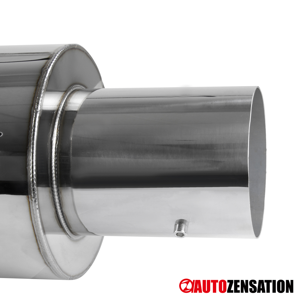 """For 2002-2006 Acura RSX Base Non-S DC5 S/S 4"""" Tip Catback"""