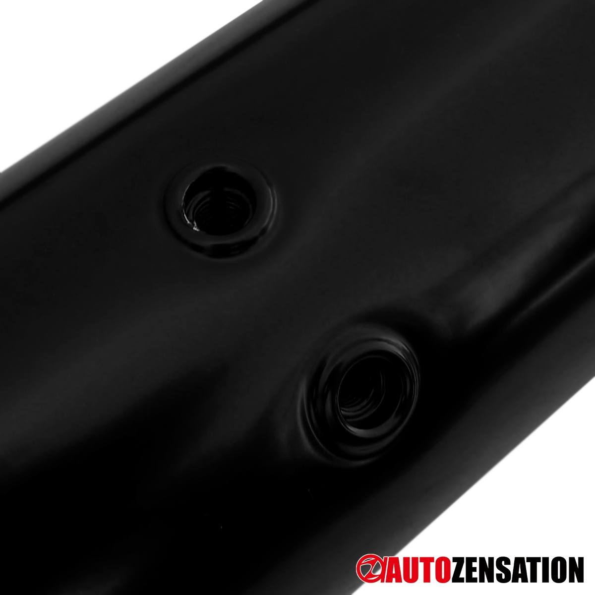 """For 2007-2013 Acura MDX 3"""" Black Stainless Steel Side Step"""