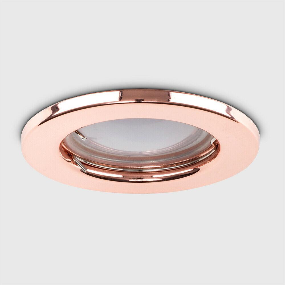 Fire Rated / IP65 Bathroom / LED GU10 Ceiling Spot Lights ...