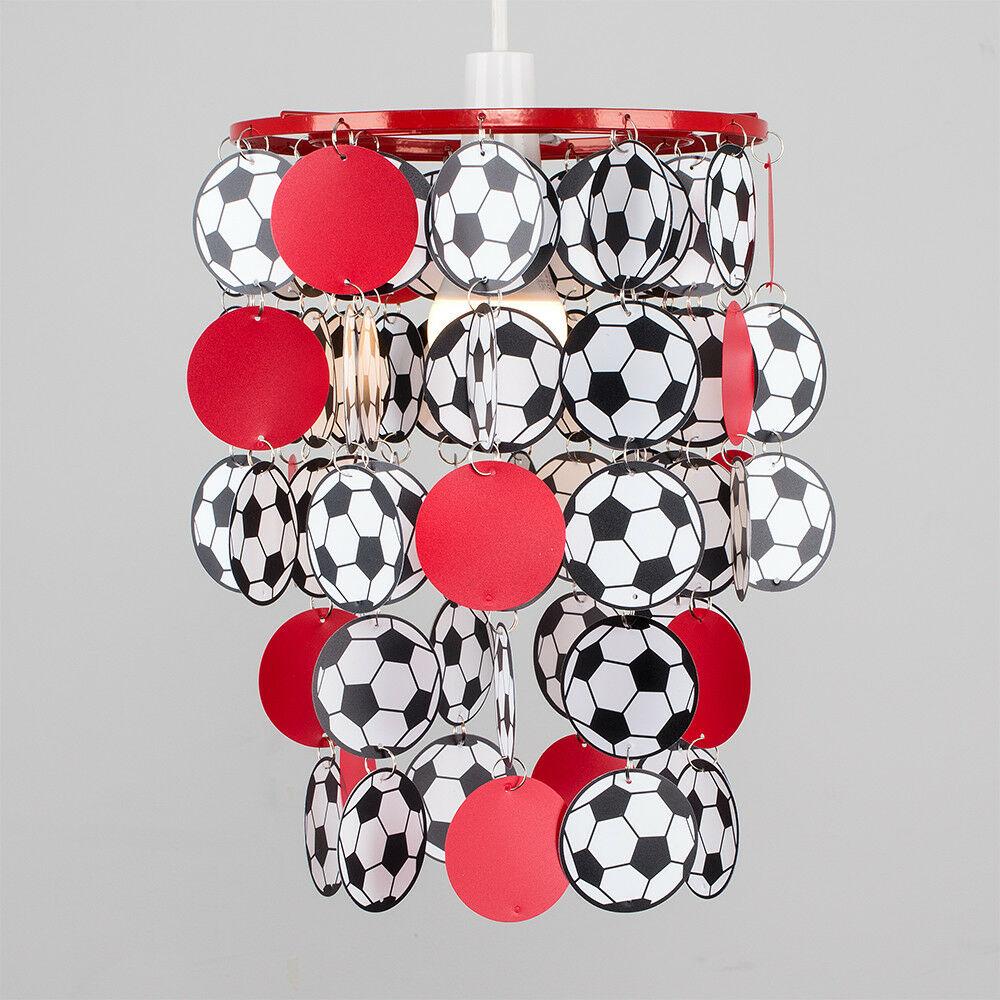 Children-039-s-Ceiling-Pendant-Shade-Kids-Football-Bedroom-Lampshades-Easy-Fit-Light thumbnail 28