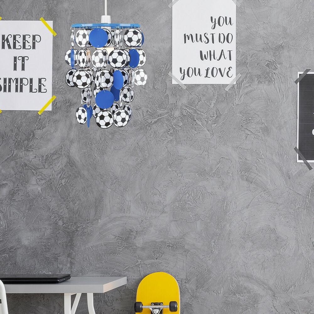 Children-039-s-Ceiling-Pendant-Shade-Kids-Football-Bedroom-Lampshades-Easy-Fit-Light thumbnail 15