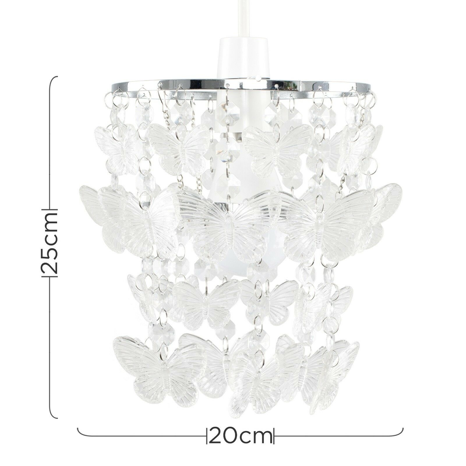 Modern-Acrylic-Crystal-Ceiling-Pendant-Light-Shade-Jewel-Chandeliers-Shades-NEW thumbnail 23