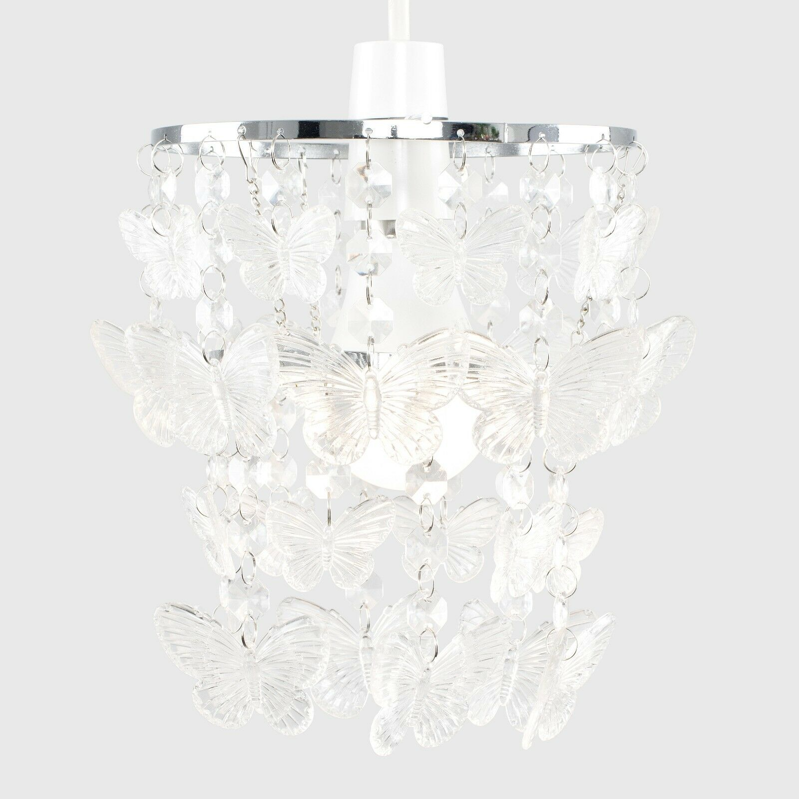 Modern-Acrylic-Crystal-Ceiling-Pendant-Light-Shade-Jewel-Chandeliers-Shades-NEW thumbnail 24