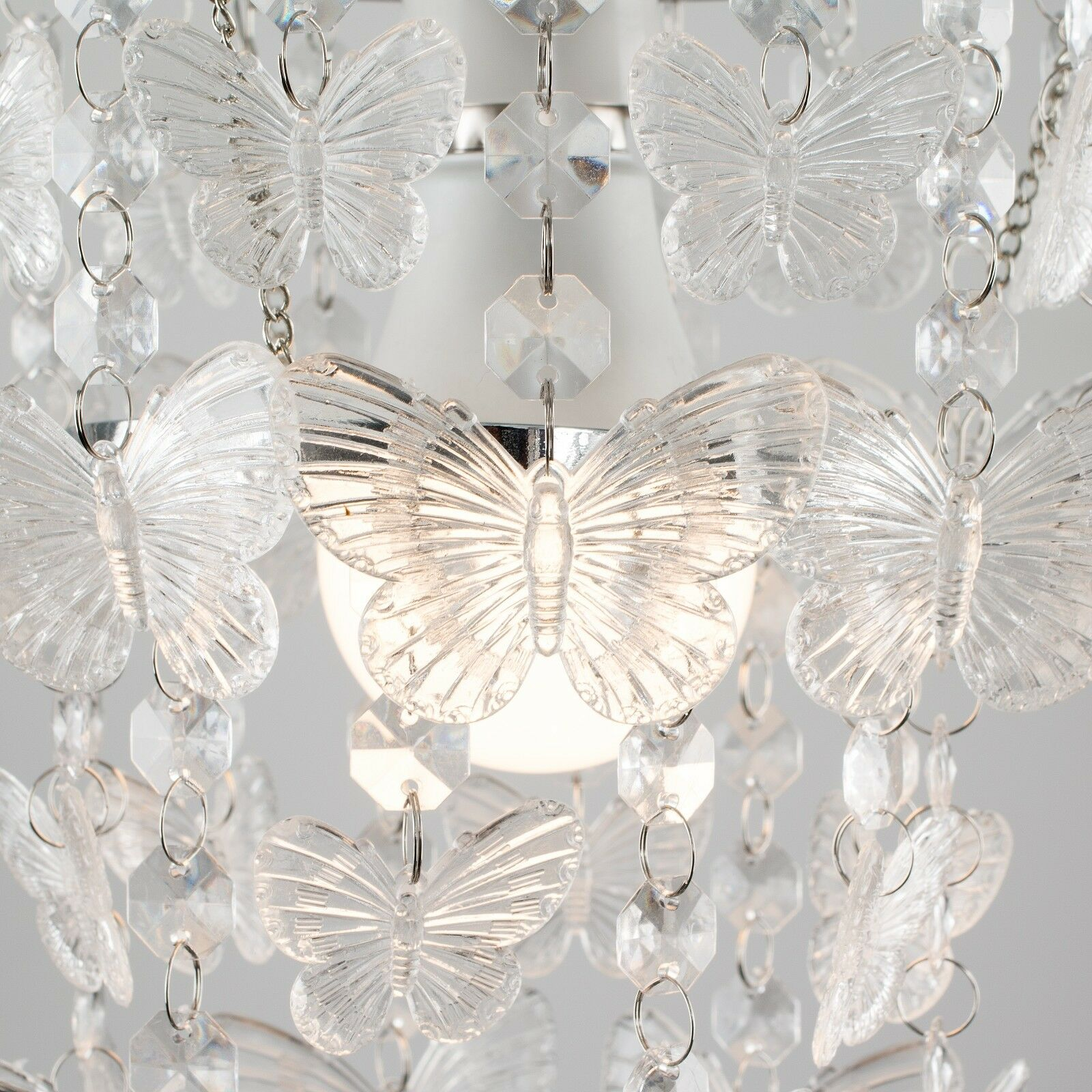 Modern-Acrylic-Crystal-Ceiling-Pendant-Light-Shade-Jewel-Chandeliers-Shades-NEW thumbnail 25