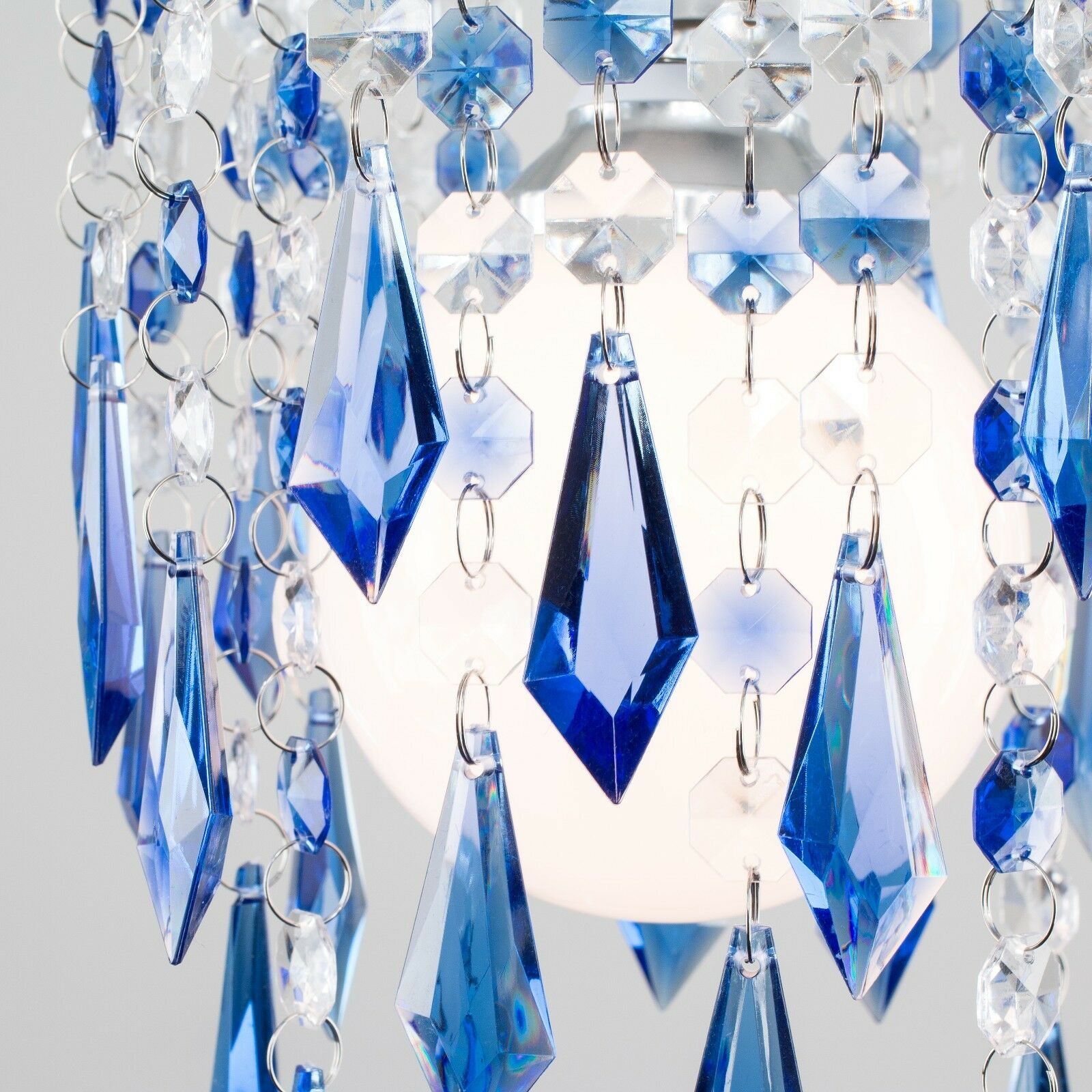 Modern-Acrylic-Crystal-Ceiling-Pendant-Light-Shade-Jewel-Chandeliers-Shades-NEW thumbnail 14