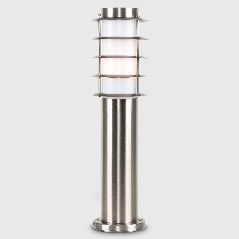 Modern-Stylish-Outdoor-Garden-Bollard-Driveway-LED-Lights-Lamp-Post-Lighting thumbnail 28