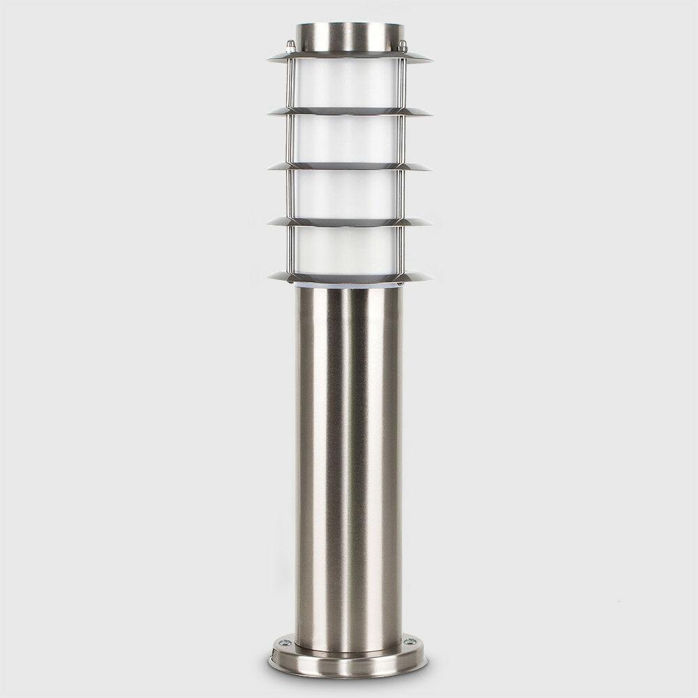 Modern-Stylish-Outdoor-Garden-Bollard-Driveway-LED-Lights-Lamp-Post-Lighting thumbnail 26