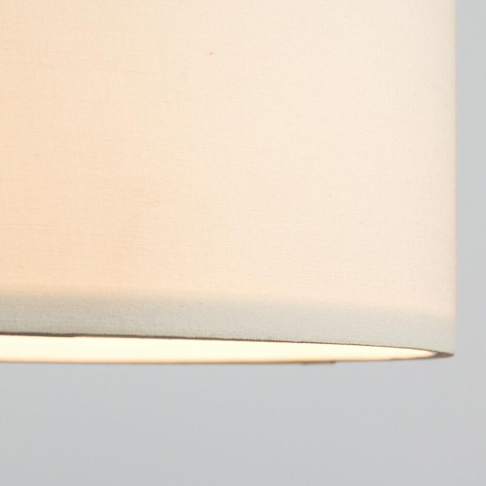 Modern-in-tessuto-cotone-Easy-Fit-Soffitto-Ciondolo-Luce-a-tamburo-Tonalita-Tavolo-Paralume miniatura 69