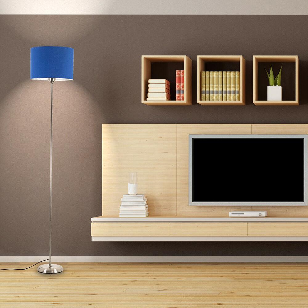 Modern-in-tessuto-cotone-Easy-Fit-Soffitto-Ciondolo-Luce-a-tamburo-Tonalita-Tavolo-Paralume miniatura 42