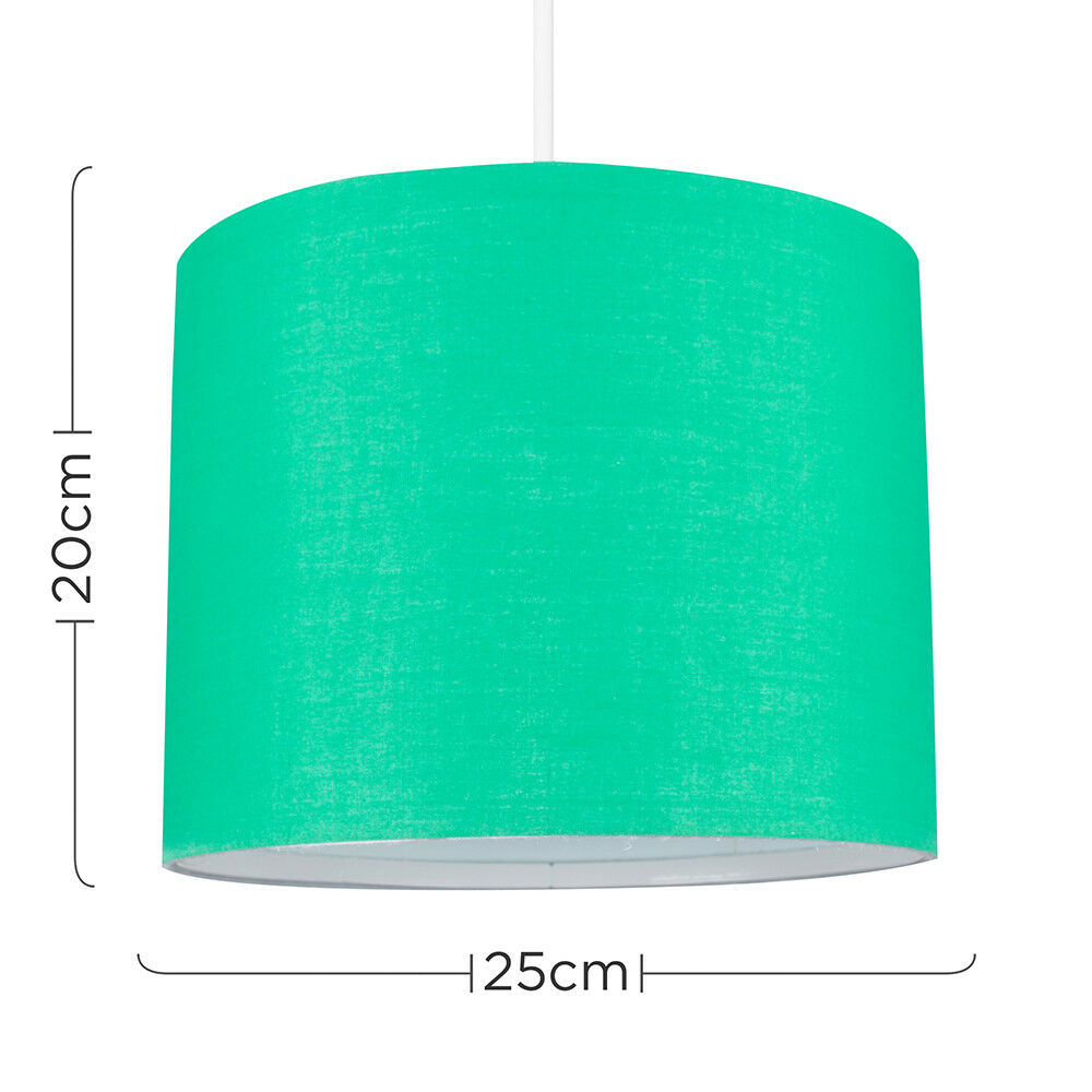 Tela-moderna-algodon-facil-ajuste-Techo-Colgante-Pantalla-De-Mesa-tonos-de-luz-de-tambor miniatura 103