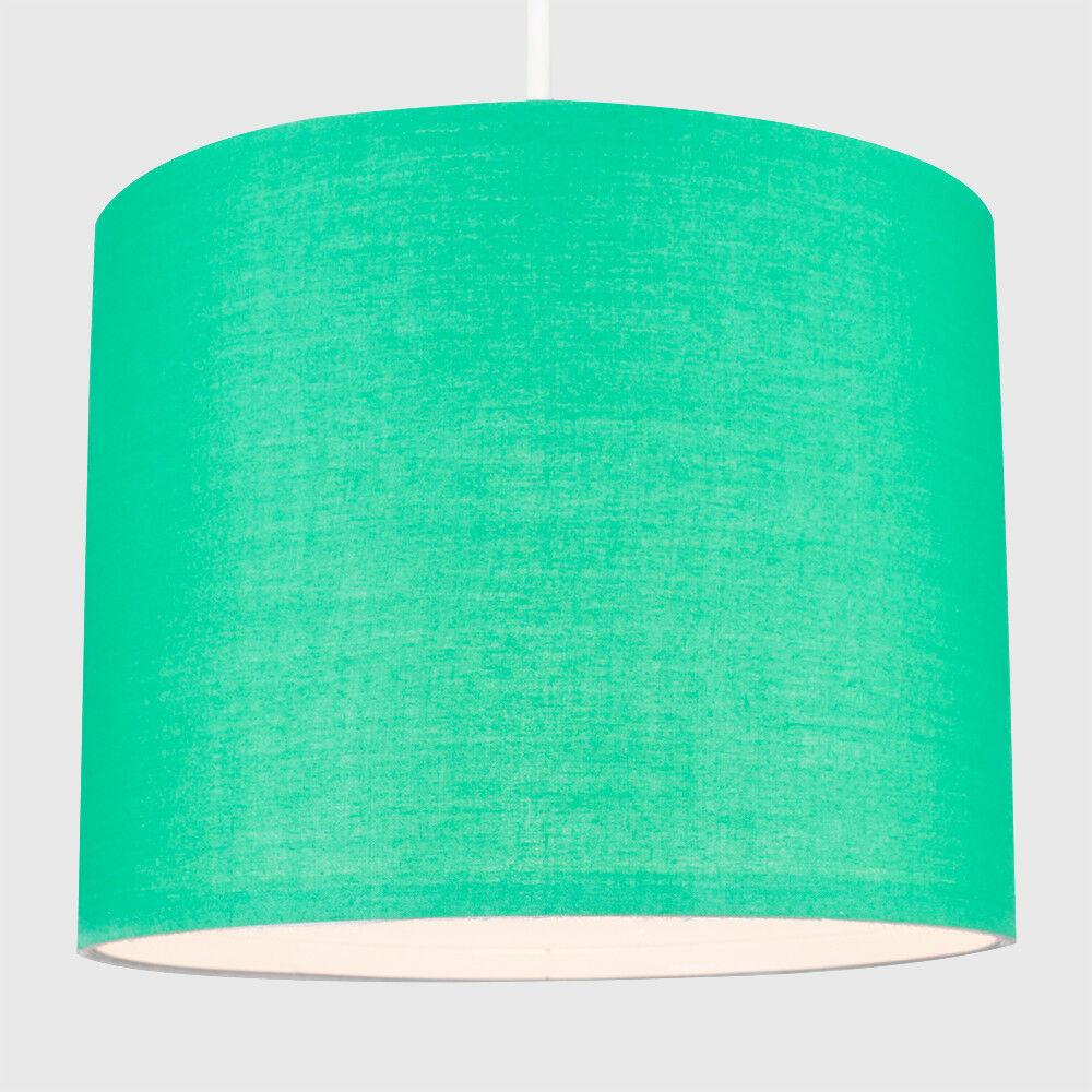 Tela-moderna-algodon-facil-ajuste-Techo-Colgante-Pantalla-De-Mesa-tonos-de-luz-de-tambor miniatura 101