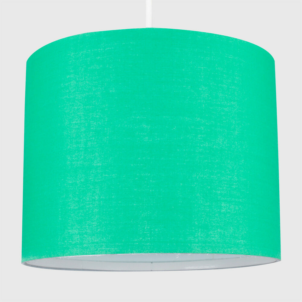 Tela-moderna-algodon-facil-ajuste-Techo-Colgante-Pantalla-De-Mesa-tonos-de-luz-de-tambor miniatura 96