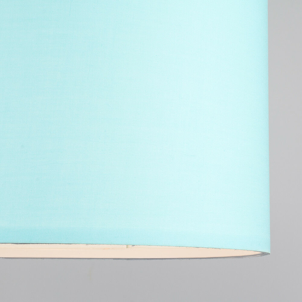 Tela-moderna-algodon-facil-ajuste-Techo-Colgante-Pantalla-De-Mesa-tonos-de-luz-de-tambor miniatura 77