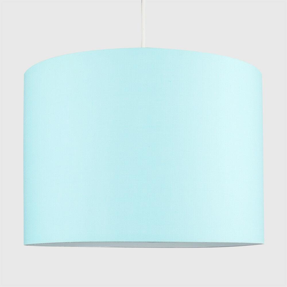 Tela-moderna-algodon-facil-ajuste-Techo-Colgante-Pantalla-De-Mesa-tonos-de-luz-de-tambor miniatura 81