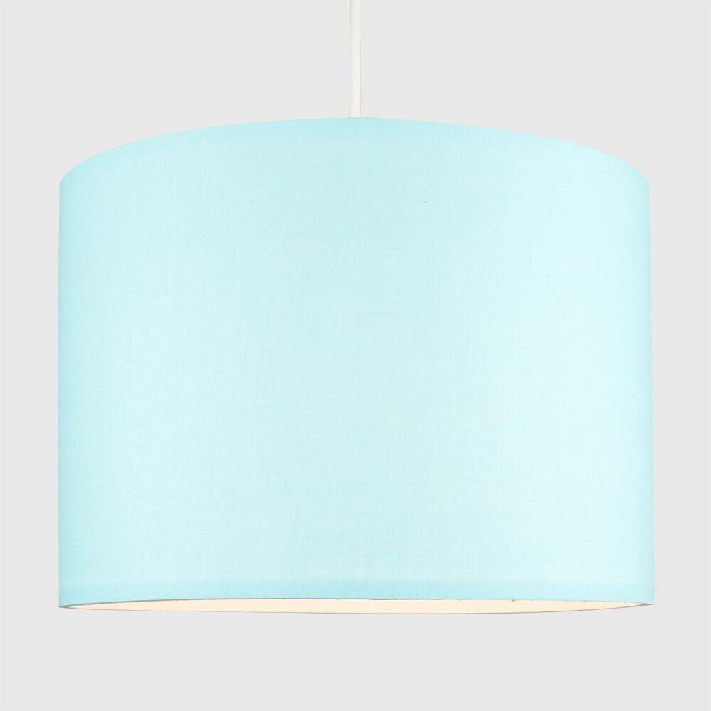 Tela-moderna-algodon-facil-ajuste-Techo-Colgante-Pantalla-De-Mesa-tonos-de-luz-de-tambor miniatura 82
