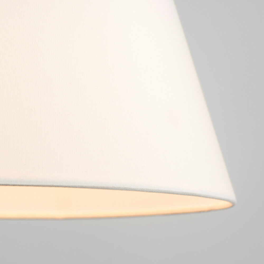 Colgante-De-Techo-De-Tela-De-Algodon-mesa-o-lampara-de-pie-luz-sombra-pantallas-2-Tamanos miniatura 23