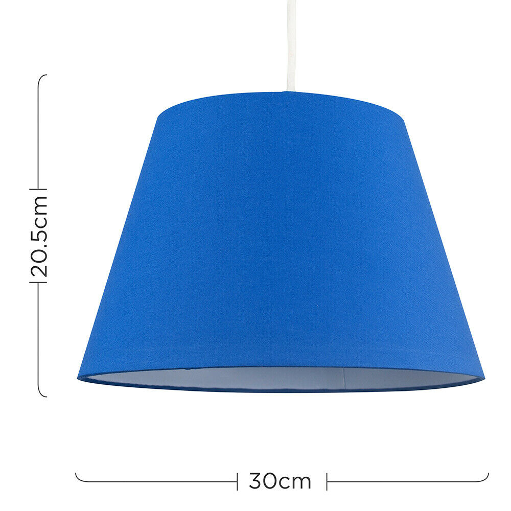 Colgante-De-Techo-De-Tela-De-Algodon-mesa-o-lampara-de-pie-luz-sombra-pantallas-2-Tamanos miniatura 12