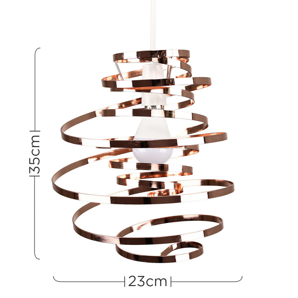 Remolino-Colgante-electrico-moderno-minisun-no-Sombra-Facil-Ajuste-Salon-Iluminacion-del-Hogar miniatura 23