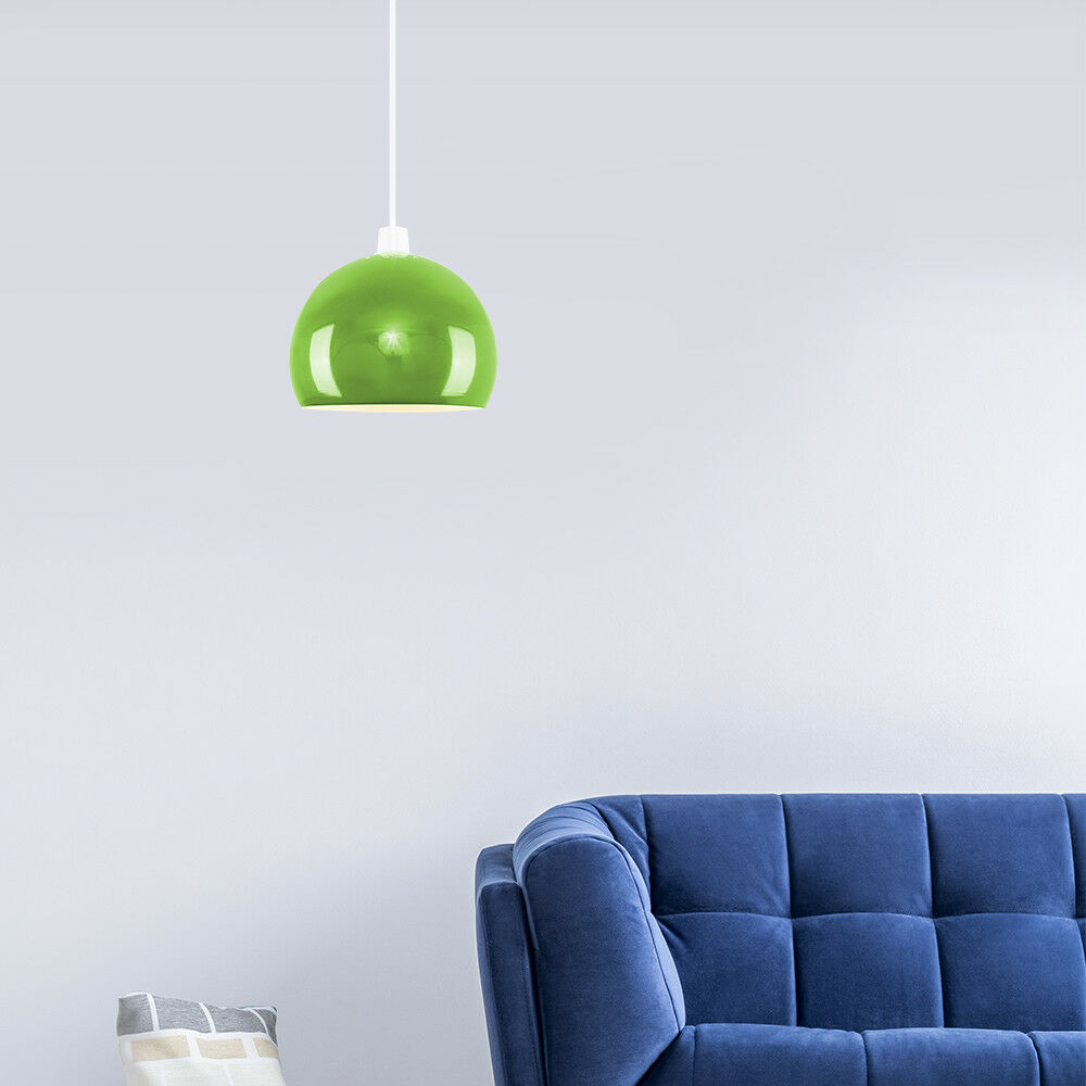 Modern-Metal-Dome-Retro-Style-Ceiling-Pendant-Light-Shade-Lampshades-Shades thumbnail 65