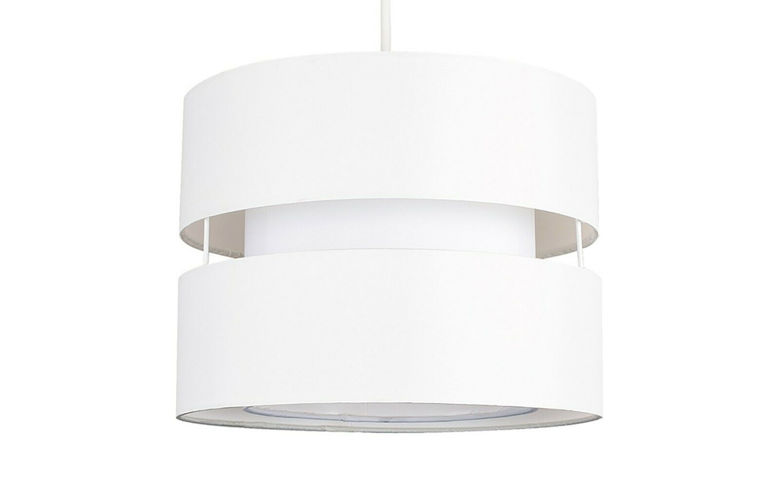 Modern-Easy-Fit-Cotton-Drum-Ceiling-Pendant-Lampshades-Modern-Light-Lighting thumbnail 16