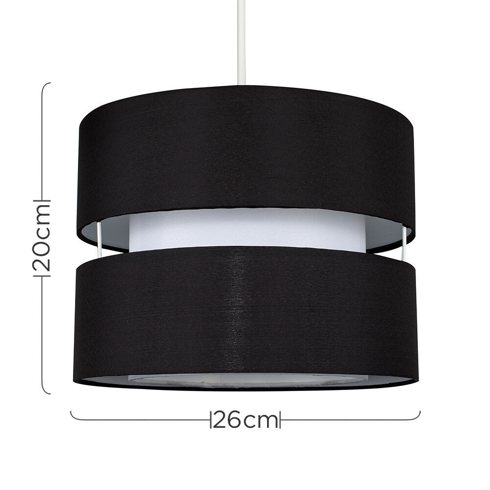 Modern-Easy-Fit-Cotton-Drum-Ceiling-Pendant-Lampshades-Modern-Light-Lighting thumbnail 9