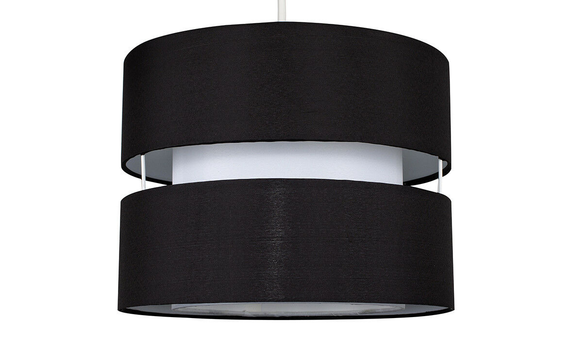 Modern-Easy-Fit-Cotton-Drum-Ceiling-Pendant-Lampshades-Modern-Light-Lighting thumbnail 8
