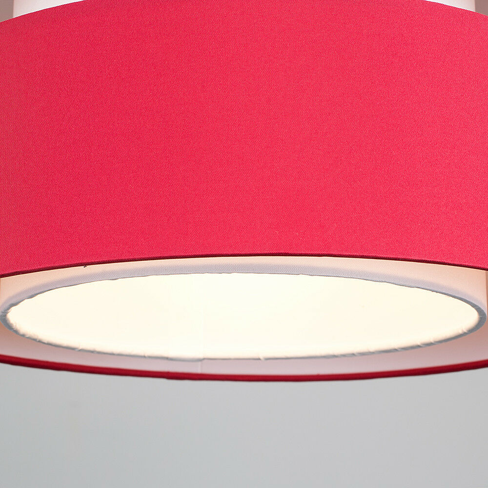 Modern-Easy-Fit-Cotton-Drum-Ceiling-Pendant-Lampshades-Modern-Light-Lighting thumbnail 34