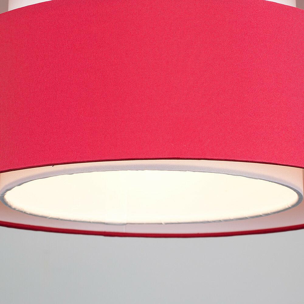 Modern-Easy-Fit-Cotton-Drum-Ceiling-Pendant-Lampshades-Modern-Light-Lighting thumbnail 38