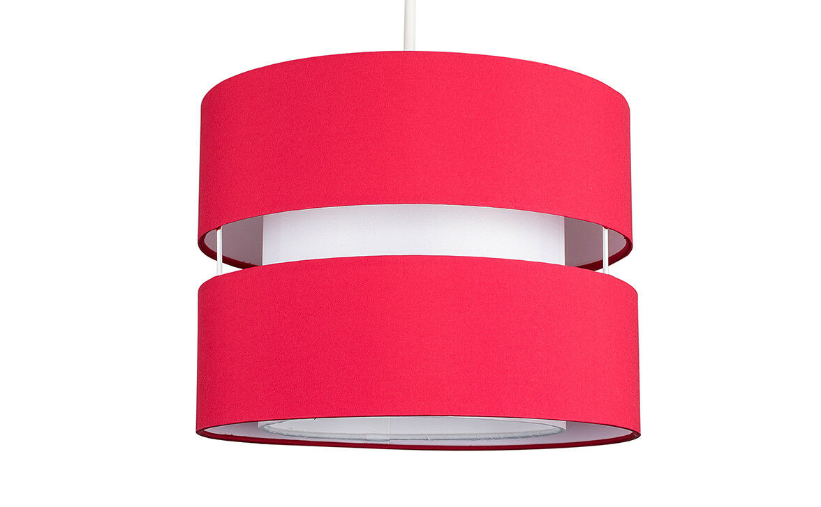 Modern-Easy-Fit-Cotton-Drum-Ceiling-Pendant-Lampshades-Modern-Light-Lighting thumbnail 35