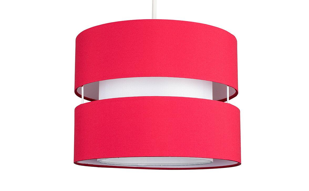 Modern-Easy-Fit-Cotton-Drum-Ceiling-Pendant-Lampshades-Modern-Light-Lighting thumbnail 39