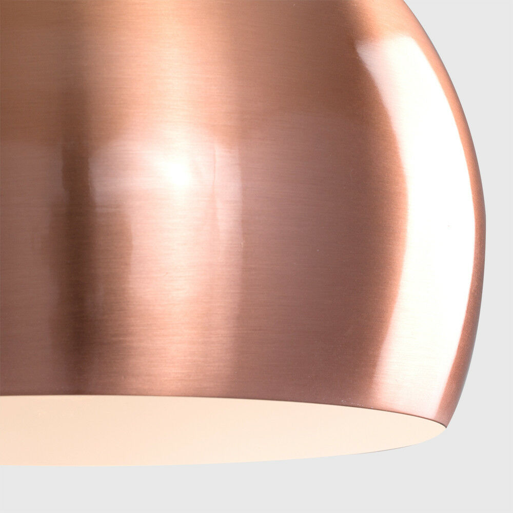 Modern-Metal-Dome-Retro-Style-Ceiling-Pendant-Light-Shade-Lampshades-Shades thumbnail 30