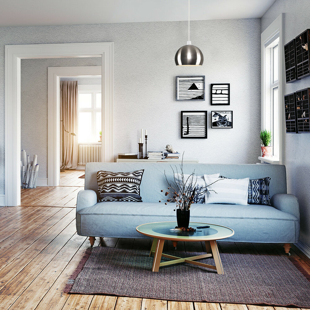 Modern-Metal-Dome-Retro-Style-Ceiling-Pendant-Light-Shade-Lampshades-Shades thumbnail 20